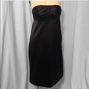 The Limited black strapless mini dress
